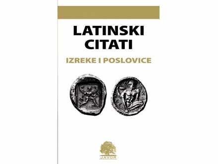 Latinski citati izreke i poslovice