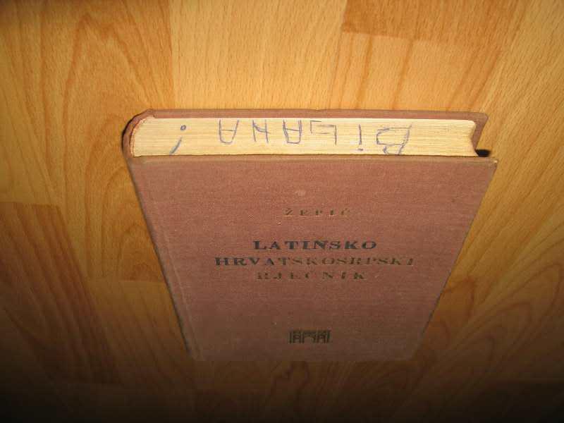 Latinsko hrvatskosrpski rječnik