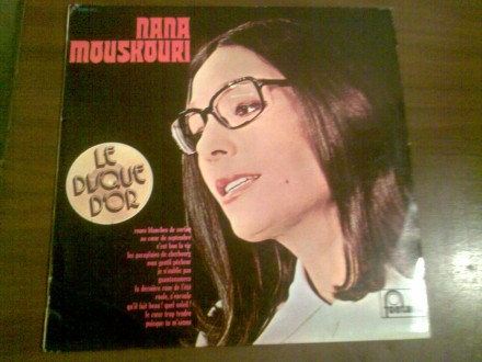 Le Disque D`Or De Nana Mouskouri