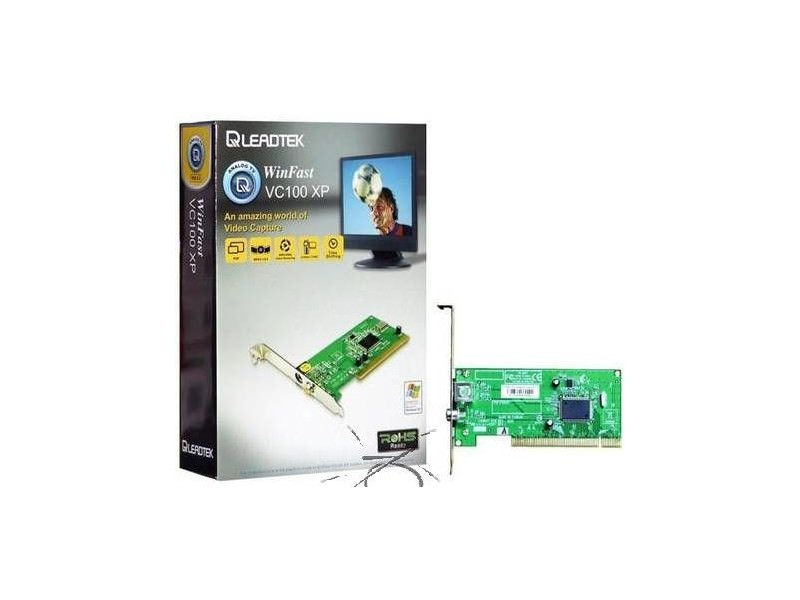 Leadtek PCI WinFast VC100 Capture Card - Video In