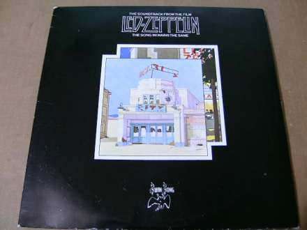 Led Zeppelin - The Soundtrack From The Film The Song Remains The Same