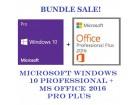 Legalan Win 10 Pro + MS Office Pro 2016 (32/64 Bit)