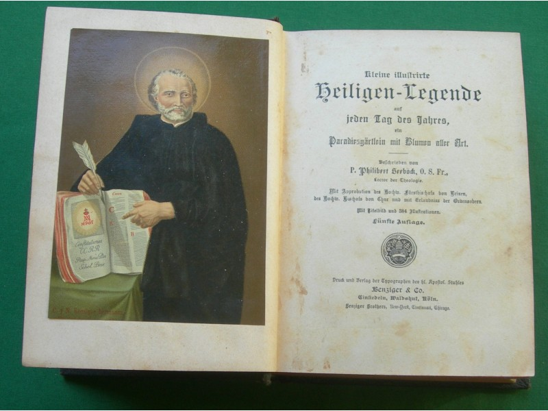 Legende o svetiteljima, Nemački, gotica, 1887.