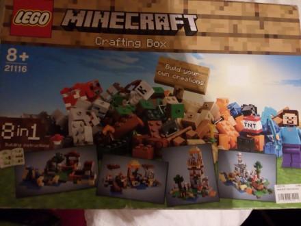 Lego MINECRAFT Craft Box