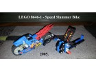 Lego Racers 8646-1 Speed Slammer Bike 2005.