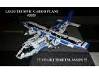 Lego Technic Cargo Plane OGROMAN - TOP PONUDA
