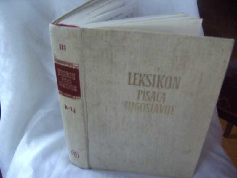 Leksikon pisaca Jugoslavije, K - LJ, III knjiga