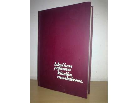 Leksikon pojmova klasika marksizma - M. Filipović NOVO