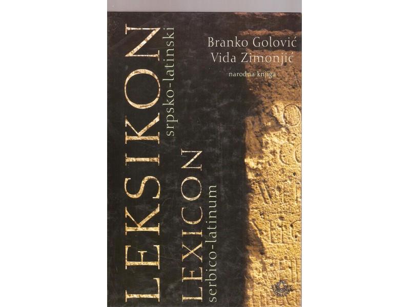 Leksikon srpsko latinski (novo)