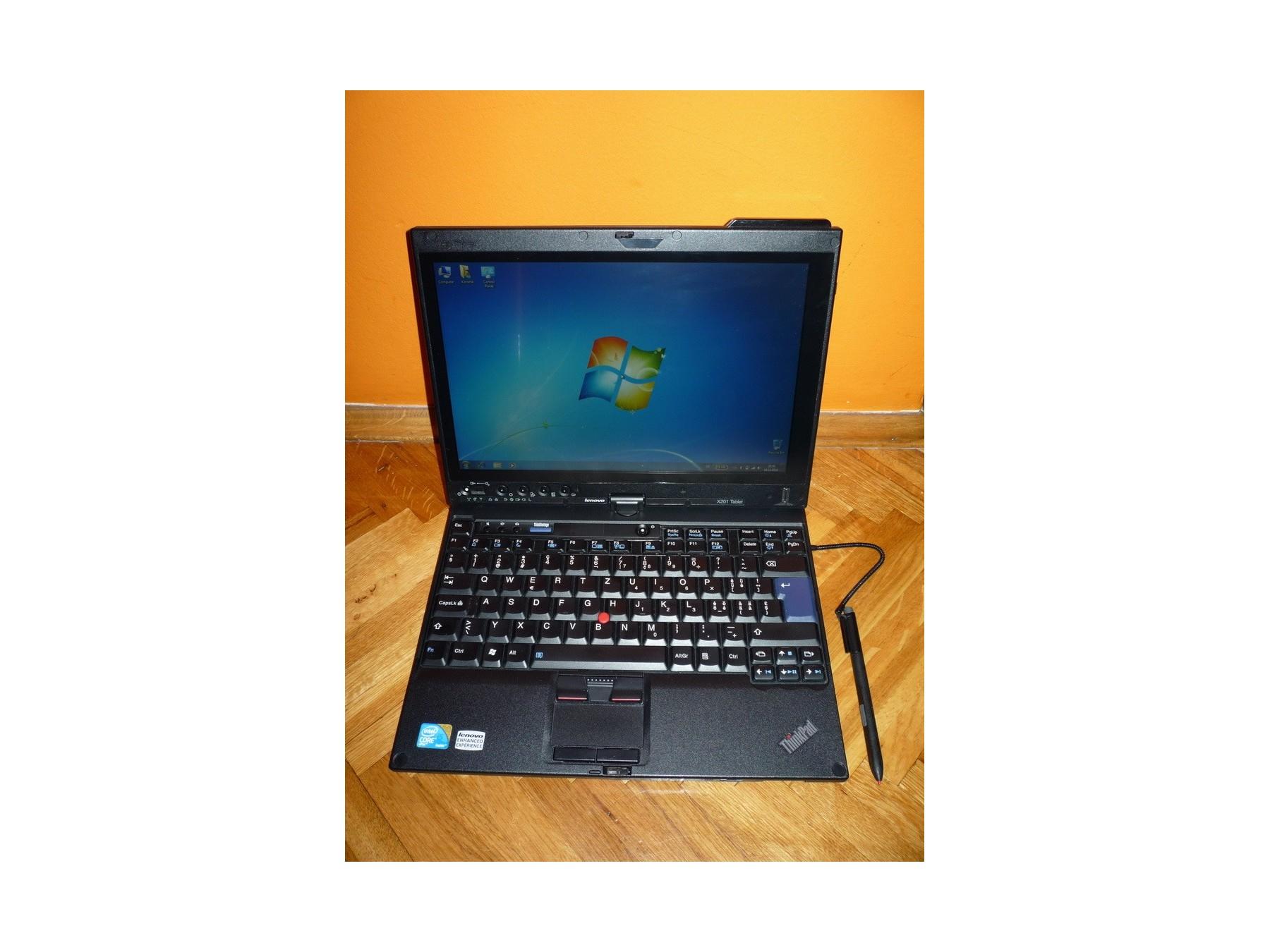 Lenovo ThinkPad X201 Tablet i5 4Gb DDR3 250Gb TOP
