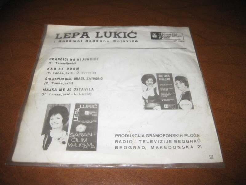 Lepa Lukić - Opančići Na Kljunčiće