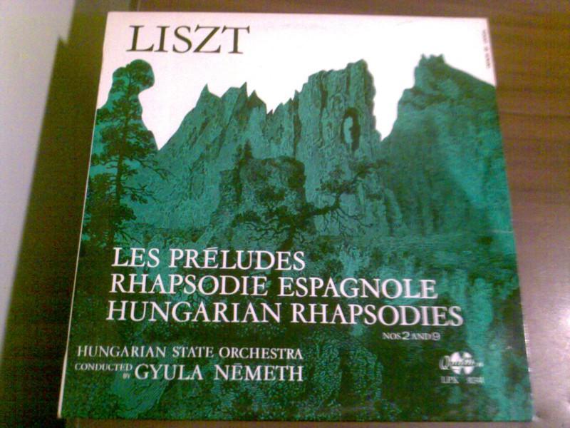 Les Preludes / Rhapsodie Espagnole / Hungarian Rhapsodies