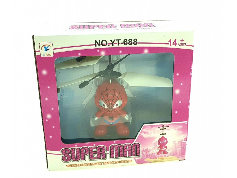Leteći Spiderman - Dečiji Helikopter IR