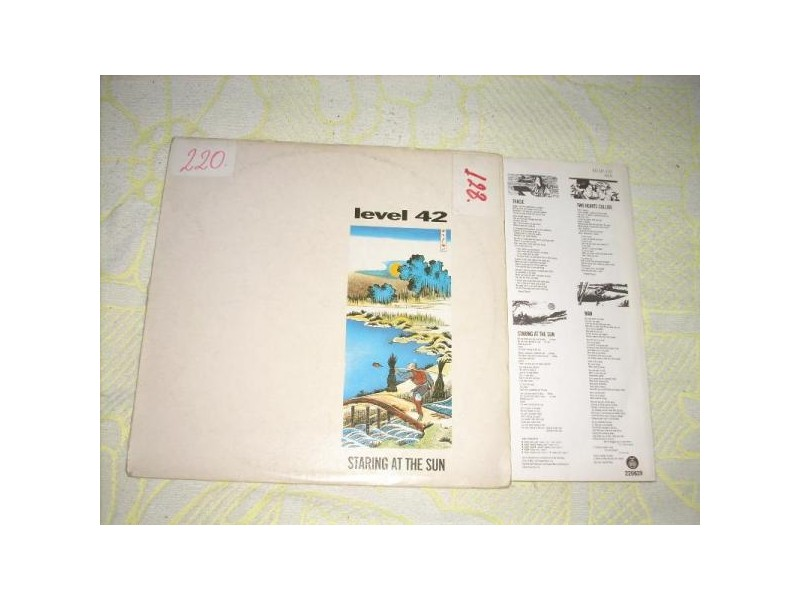 Level 42-Staring At The Sun LP