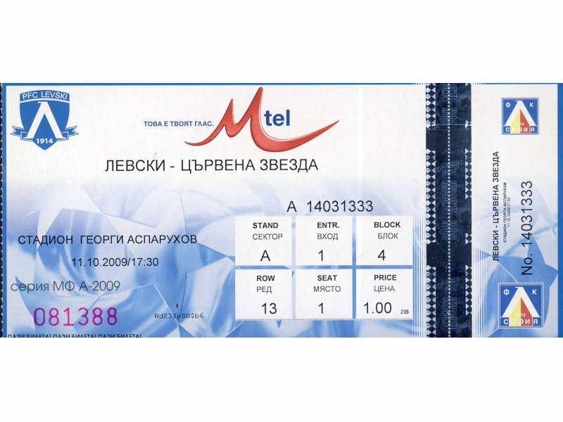Levski - Crvena Zvezda   ,   2009.god.