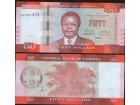Liberia 50 Dollars 2016. UNC.