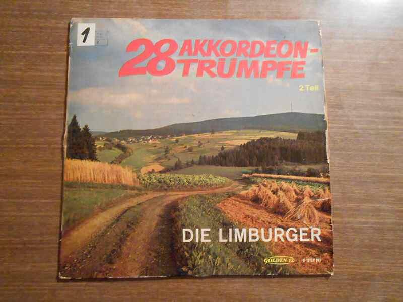 Limburger - 28 Akkordeon-Trümpfe