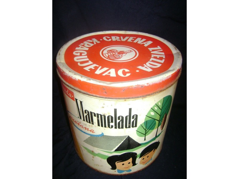Limena kutija marmelade Crvena Zvezda