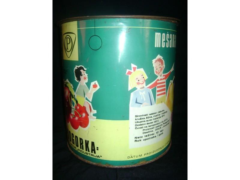 Limena kutija marmelade Podgorka