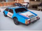 Limeni auto na kineticki motor - POLICE 47 HIGHWAY