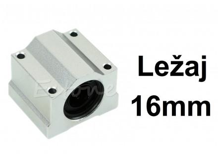 Linearni klizni lezaj sa kucistem 16mm CNC - SC16UU