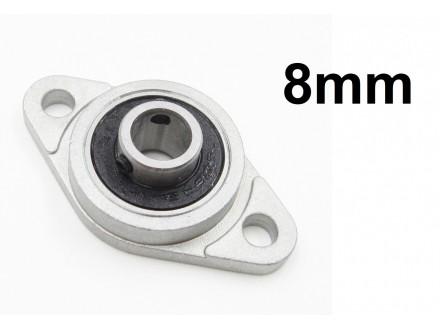 Linearni lezaj 8mm sa nosacem za montazu - KFL08