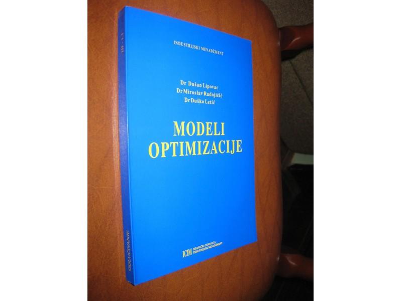 Lipovac / Radojičić / Letić - Modeli optimizacije