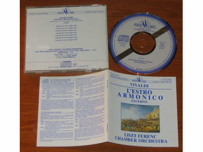 Liszt Ferenc Chamber Orchestra - Vivaldi - L`Estro Armonico