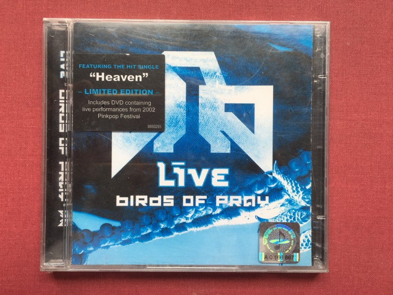 Live -BIRDS OF PRAY/ LIVE 2002  Limited Edition CD+DVD