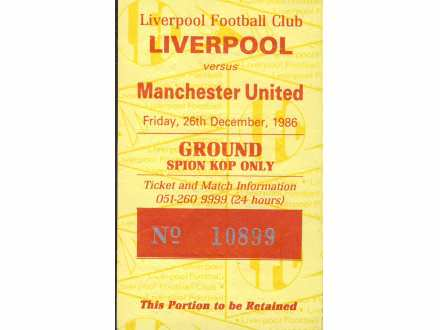 Liverpool - Manchester United   ,   1986.god.