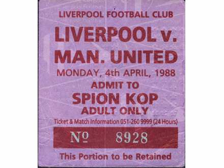 Liverpool - Manchester United   ,   1988.god.