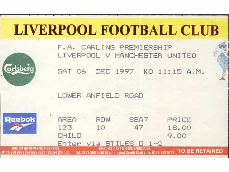 Liverpool - Manchester United   ,   1997.god.