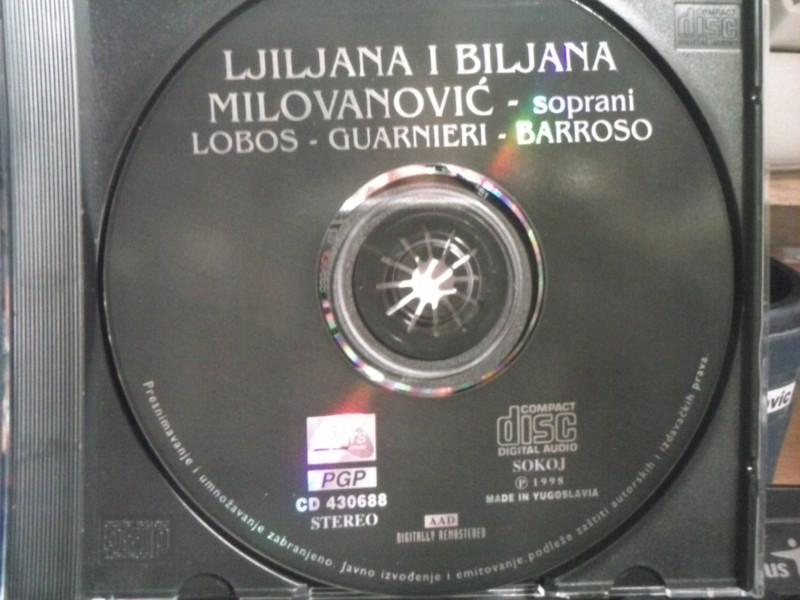 Ljiljana i Biljana Milovanović - Lobos - Guarnieri - Barroso