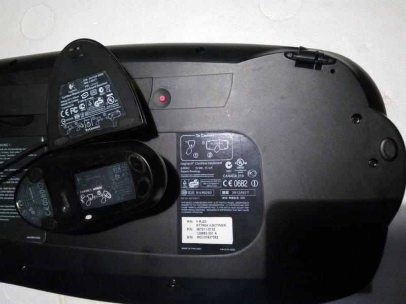 Logitech Bežični Komplet Tastatura MX DUO – Click! Miš
