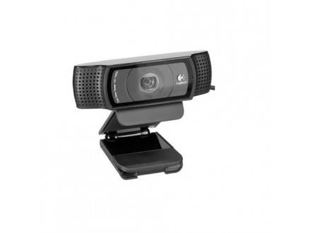 Logitech C920 HD Pro Webcam, Black - Garancija 2god