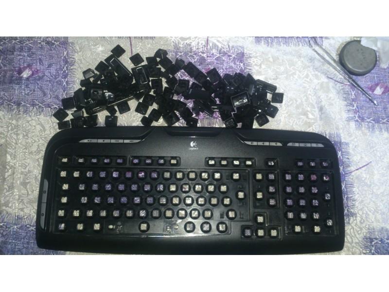 Logitech Cordless Desktop EX110 - bežična tastatura i m