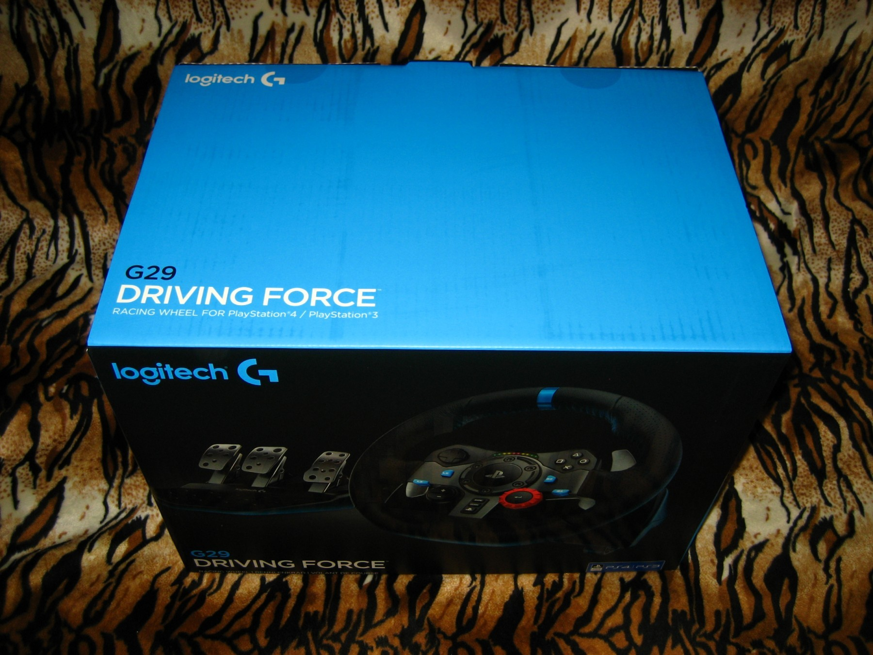 a4b9746cd4c Logitech Driving Force G29 Wheel (PS3/PS4/PC) - Kupindo.com (35453479)