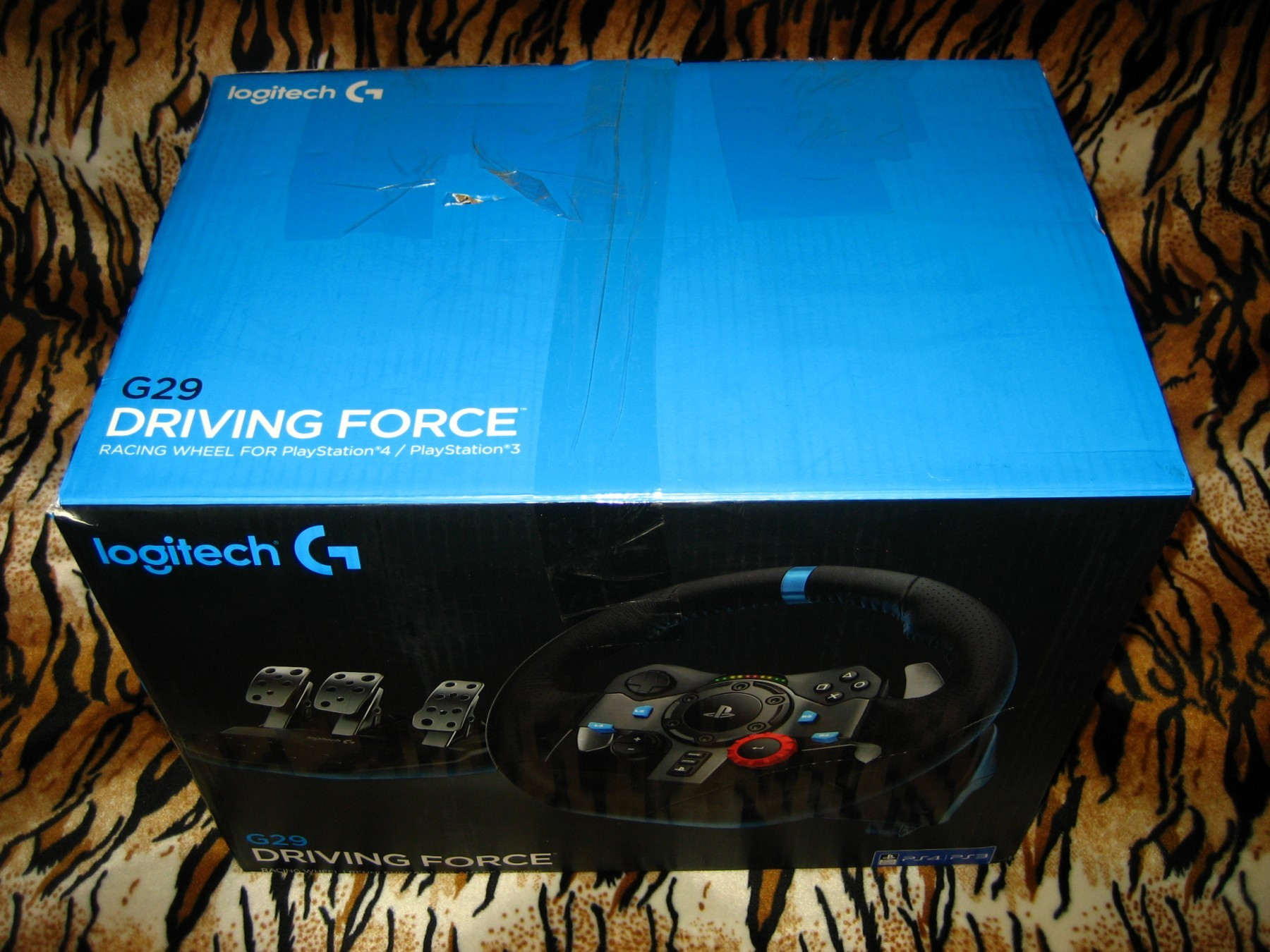 190a41c49de Logitech Driving Force G29 Wheel (PS3/PS4/PC) - Kupindo.com (44225265)