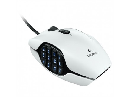 Logitech G600 Gaming mouse white