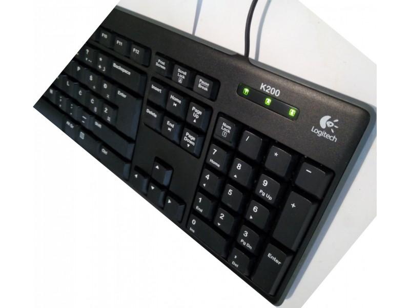 Logitech K200 MEDIA USB SRB TASTATURA