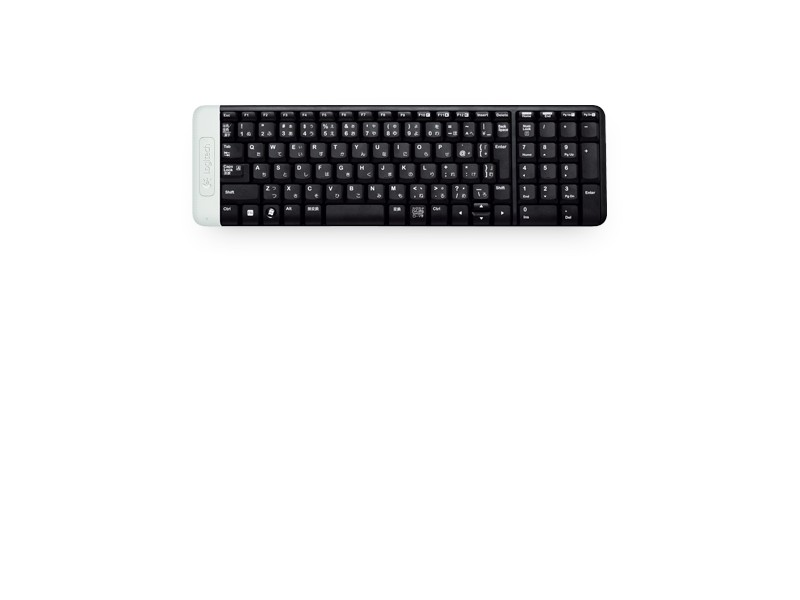 Logitech K230 Wireless KB black YU