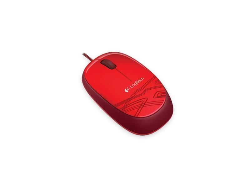 Logitech M105 Optical Red