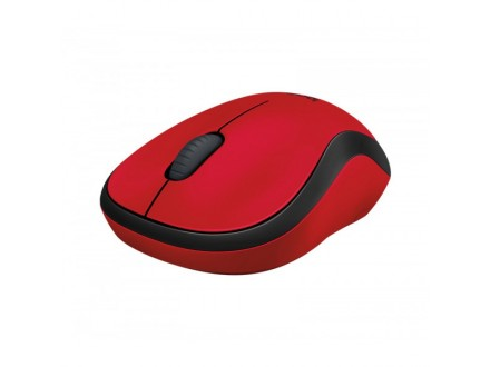 Logitech M220 Silent Mouse for Wireless, Noiseless Productivity, Red