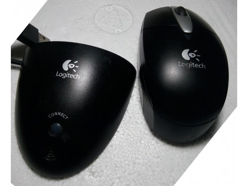 Logitech NX60 Bežični Miš i Risiver