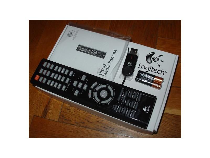 Logitech UltraX Media Remote - daljinski za PC
