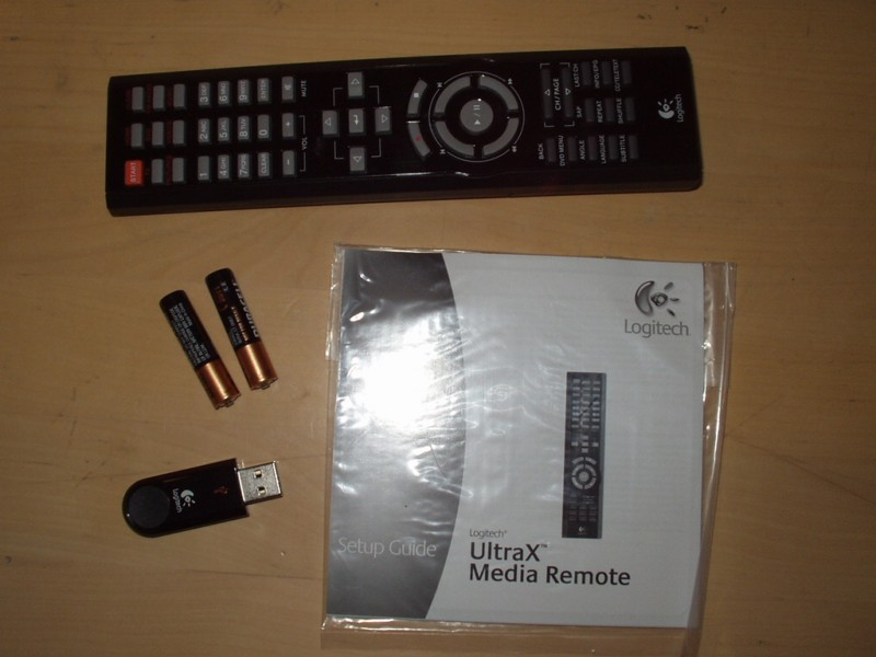 Logitech UltraX Media Remote - daljinski za PC