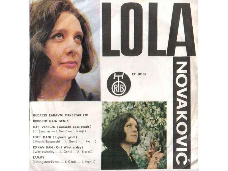 Lola Novaković - Kap Veselja