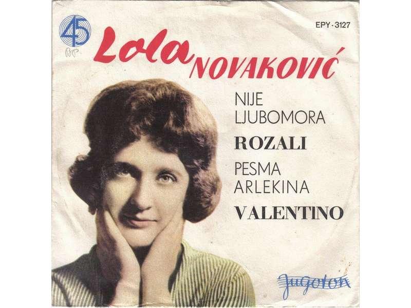 Lola Novaković - Nije Ljubomora