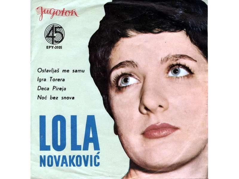 Lola Novaković - Ostavljaš Me Samu