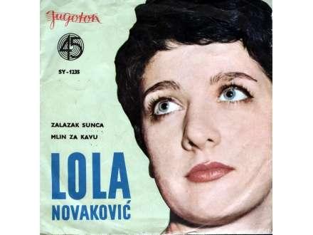 Lola Novaković - Zalazak Sunca / Mlin Za Kavu
